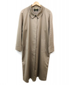 LEILIAN(レリアン)の古着「ステンカラーコート」|ブラウン