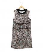 SONIA RYKIEL(ソニア リキエル)の古着「ノースリーブワンピース」|ピンク