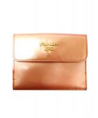 ()の古着「2つ折り財布」|ピンクゴールド