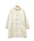 ORCIVAL(オーシバル)の古着「タイプライターコート」|ブラウン