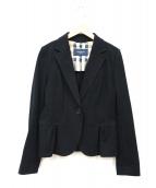 BURBERRY LONDON(バーバリーロンドン)の古着「アンコンジャケット」|ブラック