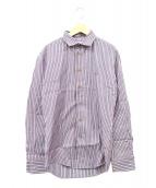 Vivienne Westwood man(ヴィヴィアンウエストウッドマン)の古着「オーブ刺繍シャツ」|グレー