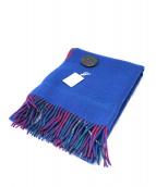 Vivienne Westwood(ヴィヴィアンウエストウッド)の古着「チェック柄マフラー」|ブルー