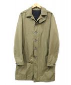 DIESEL BLACK GOLD(ディーゼルブラックゴールド)の古着「ステンカラーコート」|カーキ