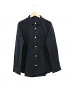 ゴーシュ(ゴーシュ)の古着「レギュラーカラーシャツ」|ブラック