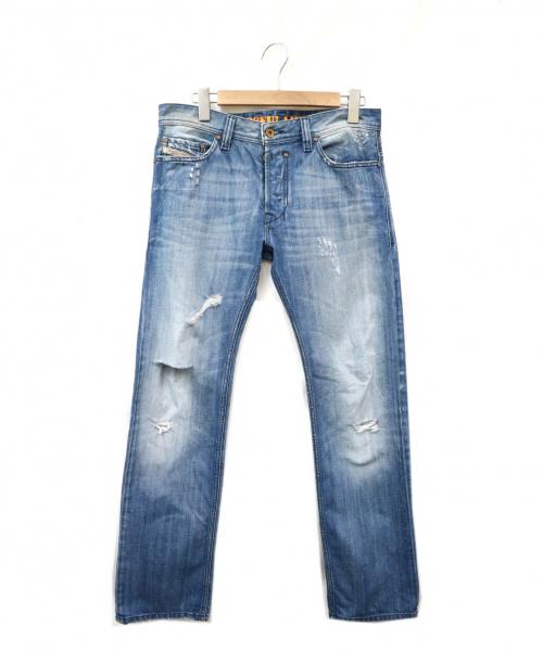 DIESEL(ディーゼル)DIESEL (ディーゼル) デニムパンツ ブルー サイズ:30 イタリア製の古着・服飾アイテム
