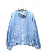 POLO RALPH LAUREN(ポロラルフローレン)の古着「デニムスイングトップ」|ブルー