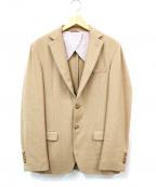 BROOKS BROTHERS Red Fleece(ブルックスブラザーズレッドフリース)の古着「テーラードジャケット」|ブラウン