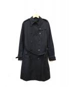 BURBERRY LONDON(バーバリーロンドン)の古着「ノヴァチェックライナー付トレンチコート」|ブラック
