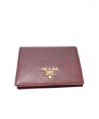 ()の古着「2つ折り財布」|パープル