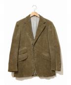 POLO RALPH LAUREN(ポロ・ラルフローレン)の古着「[OLD]コーデュロイテーラードジャケット」|ブラウン