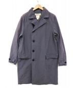 REMI RELIEF(レミレリーフ)の古着「60/40クロスダブルコート」|グレー