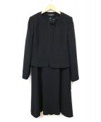 LILYBURN(リリーバーン)の古着「フォーマルセットアップワンピース」|ブラック
