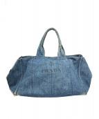 ()の古着「デニムカナパトートバッグ」|インディゴ