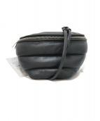 marimekko(マリメッコ)の古着「シープスキンショルダーバッグ」|ブラック