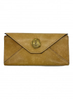 ()の古着「長財布」 ブラウン