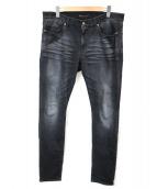 Saint Laurent Paris(サンローランパリ)の古着「デニムパンツ」 ブラック
