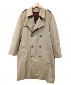 Hart Schaffner Marx(ハート シャフナー アンドマークス)の古着「トレンチコート」|ブラウン