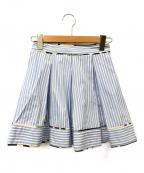 MSGM(エムエスジーエム)の古着「ミニスカート」|ブルー