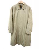 Burberrys(バーバリーズ)の古着「ステンカラーコート」 ブラウン