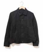 REGULATION Yohji Yamamoto()の古着「ビッグポケットトラッカータイプジャケット」|ブラック
