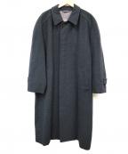 Christian Dior MONSIEUR(クリスチャンディオールムッシュ)の古着「ロングステンカラーコート」|グレー