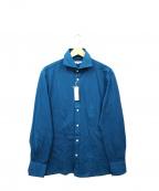 RING JACKET(リングジャケット)の古着「カッタウェイドレスシャツ」 ブルー