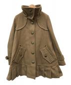 ()の古着「ウールコート」|ベージュ