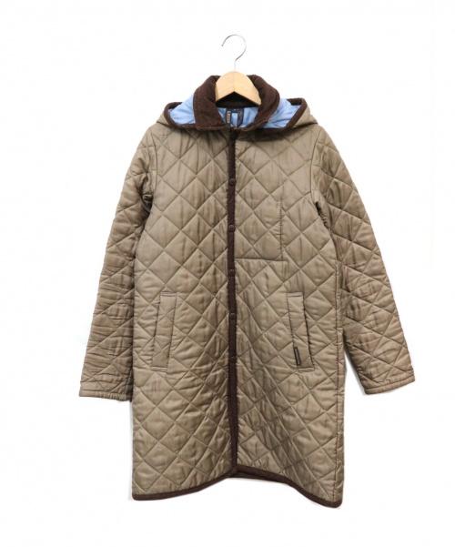 LAVENHAM(ラベンハム)LAVENHAM (ラベンハム) キルティングコート ブラウン サイズ:38 英国製 イギリス製の古着・服飾アイテム