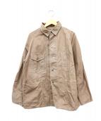 POST OALLS(ポストオーバーオールズ)の古着「カバーオール」|ブラウン