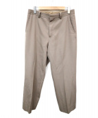 AURALEE(オーラリー)の古着「WOOL MAX GABARDINE SLACKS」|ブラウン