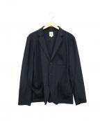 F.O.B FACTORY(エフオービー ファクトリー)の古着「ストレッチデパーチャージャケット」|ブラック