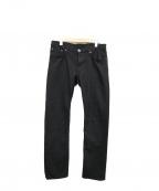 BURBERRY BRIT(バーバリーブリット)の古着「テーパードパンツ」|ブラック