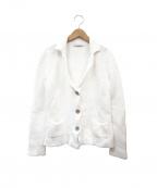 Fabiana Filippi(ファビアナフィリッピ)の古着「コットンニットジャケット」 ホワイト