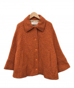 SEE BY CHLOE(シーバイクロエ)の古着「ツイードジャケット」|オレンジ