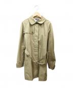 Paul Smith BLACK(ポールスミスブラック)の古着「ステンカラーコート」|カーキ