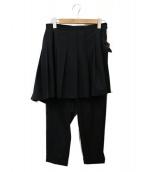 COMME des GARCONS HommePlus(コムデギャルソンオムプリュス)の古着「変形スカートパンツ」 ブラック