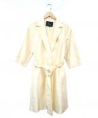 allureville(アルアバイル)の古着「コート」|ホワイト