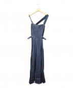CASA FLINE(カーサフライン)の古着「デニムワンピース」|ネイビー
