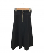 muller of yoshiokubo(ミュラーオブヨシオクボ)の古着「ウールスカート」|ブラック