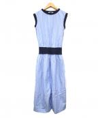 PLAIN PEOPLE(プレインピープル)の古着「ワンピース」|ブルー
