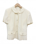 courreges(クレージュ)の古着「ジャケット」|ホワイト