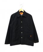 UNIVERSAL OVERALL()の古着「カバーオール」 ブラック