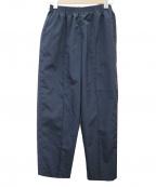 CellarDoor(セラードアー)の古着「クロップドイージーパンツ」|ネイビー