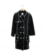 MOSCHINO(モスキーノ)の古着「コート」|ブラック