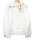 SASSAFRAS(ササフラス)の古着「GARDENER BUD BREAKER」 ホワイト
