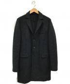 HARRIS WHARF LONDON(ハリスワーフロンドン)の古着「メルトンチェスターコート」|グレー