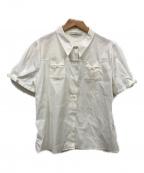 PRADA(プラダ)の古着「半袖シャツ」 ホワイト