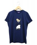 RALPH LAUREN(ラルフローレン)の古着「ベアTシャツ」|ブルー