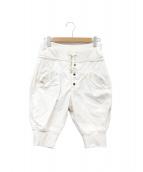 KAPITAL(キャピタル)の古着「ショートパンツ」|ホワイト